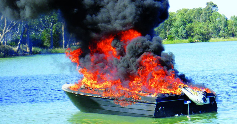 Boat Fires Transport Safety Victoria