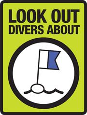 Look out, divers about icon