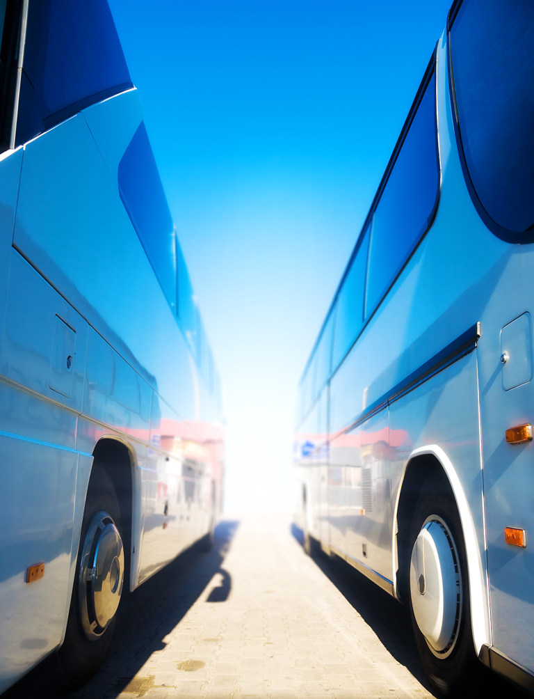 Photo of two buses