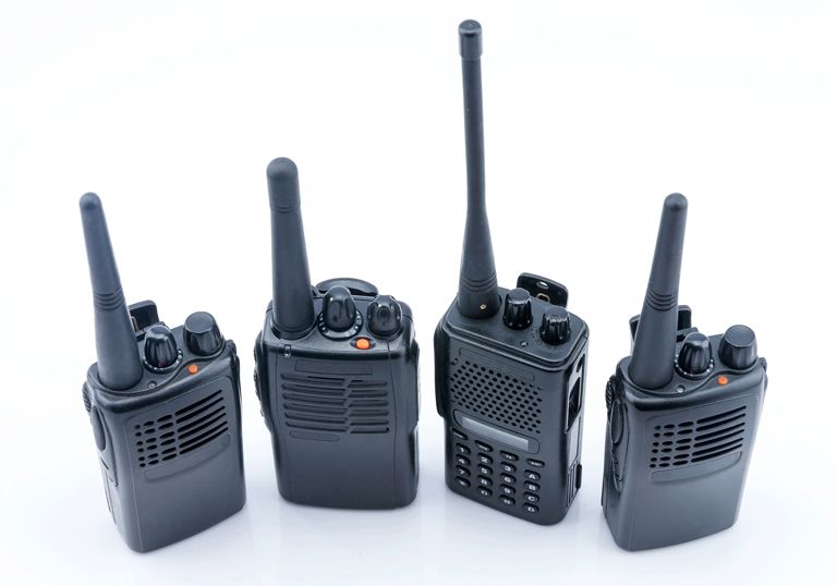 Selection of marine radios