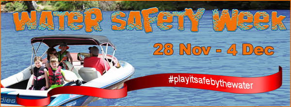 Water Safety Week banner