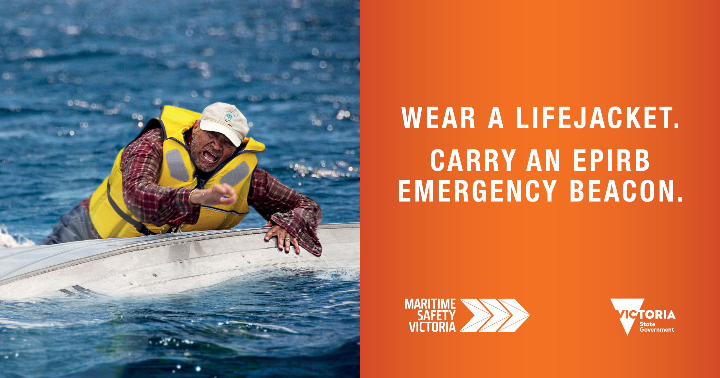 Wear a lifejacket - boater, Facebook
