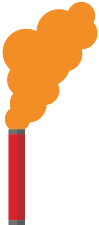 Drawing of handheld smoke signal