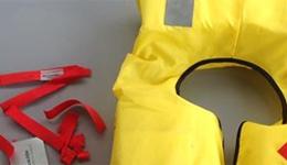 Degraded lifejacket straps