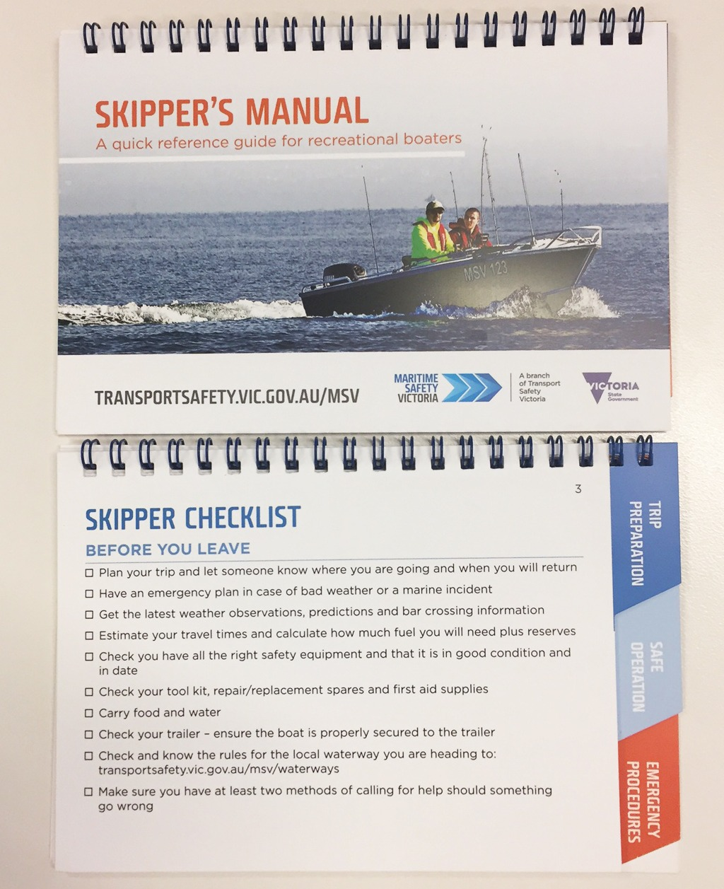 An open Skipper's Manual