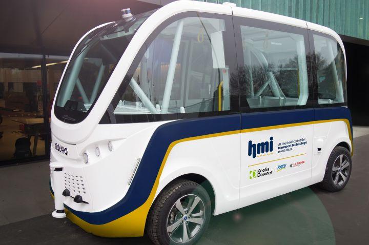 Autonomous bus trial